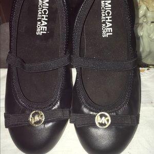 Michael Kors Leather Girl's Ballet Flats Size 12